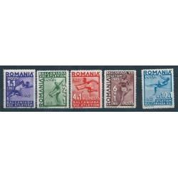 1937 ROMANIACAMPIONATI BALCANICI DI ATLETICA LEGGERA 5 VAL NUOVI MNH MF40614