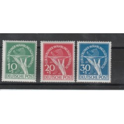 1949  BERLINO  VITTIME SVALUTAZIONE  3VAL MNH  MF19948