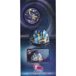 2002 SCHEDE TELEFONICHE FUTUR SHOW  FOLDER 1 TESSERE NUOVE MF19936