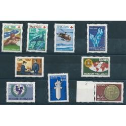 1966 FINLANDIA ANNATA COMPLETE 9 VALORI NUOVI MNH MF40637
