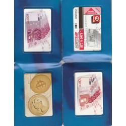 2003 SCHEDE TELEFONICHE  EURO 1 FOLDER 8 TESSERE NUOVE MF19944