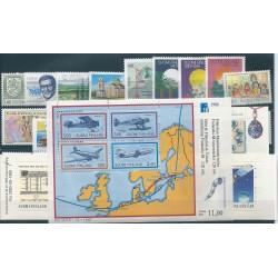 1988 FINLANDIA ANNATA COMPLETE 29 VALORI CON LIBRETTI E 1 BF CON MNH  MF40671