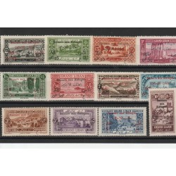 1926 LIBANO GRAND-LIBAN SOPRASTAMPATI  12 VAL MLH MF19781
