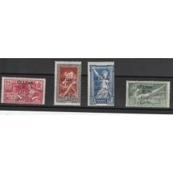 1924 - 25 LIBANO GRAND-LIBAN  OLIMPIADI SOVRASTAMPATI 4 VAL MLH  MF19776