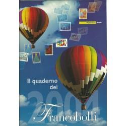 2004 ITALIA REPUBBLICA QUADERNO DEI FRANCOBOLLI COMPLETO  MF24838