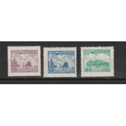 1954 COREA DEL SUD  DEFINITIVA YV 140-42 - 3 VAL NUOVI MLH MF19758