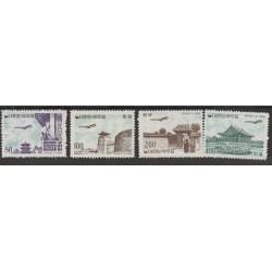 1961 COREA DEL SUD  POSTA AEREA  YV 22-25 -  4 VAL NUOVI MNH MF19797