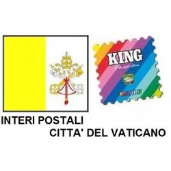 2003 FOGLI AGGIORNAMENTO MARINI VATICANO INTERI POSTALI NUOVO MF9965