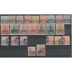 1902 IRAN - PERSIA  SOPRASTAMPA  PROVVISOIRE 24 VAL  MNH MF19875