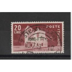 1949 TRIESTE A AMG-FTT ELEZIONI AMMINISTRATIVE TRIESTE 1 V USATO MF19975