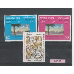 1970  IRAQ  PIANO QUADRIENNALE  3  VAL MNH MF50121