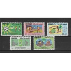 1971  IRAQ  GIOCI PANARABI  5  VAL MNH MF50120