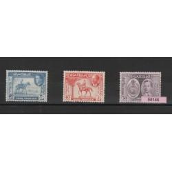 1949 IRAQ UPU  3 VAL MNH MF50146