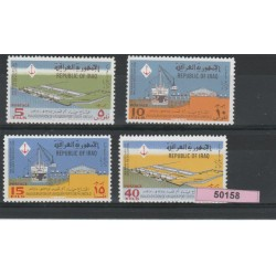196  IRAQ ANNIV RIVOLUZIONE 4 VAL MNH MF50158