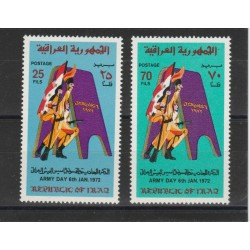 1971  IRAQ TRAFFICO  2 VAL MNH MF50133