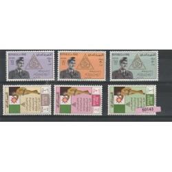 1962 IRAQ GIORNATA ARMATA 6 VAL MNH MF50143