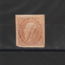 1866-67 MESSICO MEXICO MASSIMILIANO D ASBURGO  YV N 26 MLH MF50159