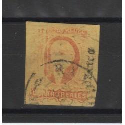 1861 MESSICO MEXICO MIGUEL HIDALGO YVERT 10A USATO 1 VAL MF50183