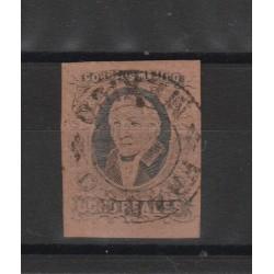1861 MESSICO MEXICO MIGUEL HIDALGO YVERT 11B USATO 1 VAL MF50184