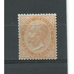 1863 REGNO ITALIA VITTORIO EMANUELE II 10 C TORINO CENTRATO MLH COLLA MF23823