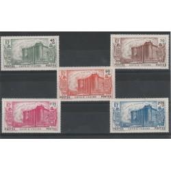 COTE D IVOIRE 1939  RIVOLUZIONE FRANCESE  5 VAL MLH MF 50059