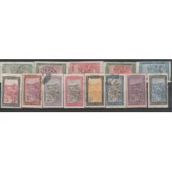 MADAGASCAR 1922 - 26 ZEBU E ALBERO  13  VAL MISTI  MF50218