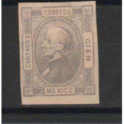 1872  MESSICO MEXICO MIGUEL- HIDALGO YV N 53 MLH 1 VAL  MF50178