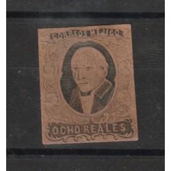 1861 MESSICO MEXICO MIGUEL HIDALGO  YV N 11B  MLH  1 VAL  MF50185