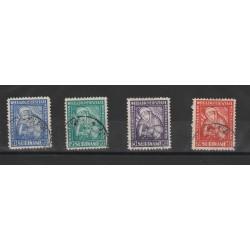 SURINAME 1928 VAN HEENSTRA YV 131-34 - 4 V  USATI MF50320