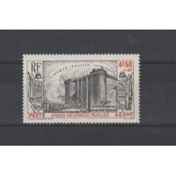 AFRICA EQUATORIALE FRANCESE 1939 RIVOLUZIONE FRANCESE  1  VAL MLH MF50310