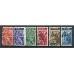 1935 VATICANO VATICAN CITY SERIE CONGRESSO GIURIDICO INTERN 6 VAL USATI MF25023