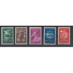 ANTILLE OLANDESI 1952  VITTIME DEL MARE  YV 227-231 5V USATI MF50342