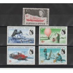 BRITISH ANTARTIC TERRITORY  1969   ANNATA COMPLETA  5V  MNH  MF50395