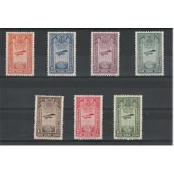 1931 ETIOPIA AEREO IN VOLO 7 VALORI NUOVI  MNH YV A 11-17 MF50448