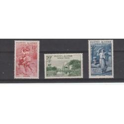 ALGERIE ALGERIA 1957  PRO OPERE SOCIALI  3 VAL MNH  YVERT N 346-48 MF50514