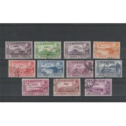 1947 ETIOPIA  EFFIGIE  HAILE SALASSIE YV 23-30 PA  11  VAL USATI MF50471