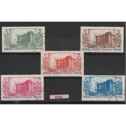 S PIERRE ET MIQUELON 1939  RIVOLUZIONE FRANCESE 5  V  USATI MF 50505