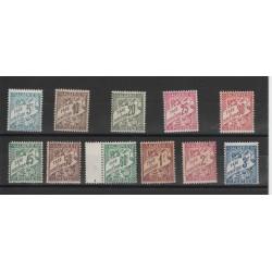 ALGERIE ALGERIA 1926-28 SEGNATASSE 11 VAL  MLH YVERT 1A-11   MF50491
