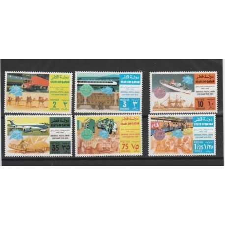 QATAR 1971  UPU YVERT N 234/39 - 6 VAL   MNH MF50551