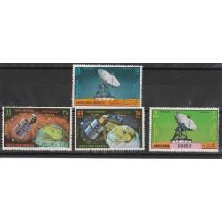 ARABIA SAUDITA 1975  STAZIONE SATELLITARE  YVERT N 35-38-  4 V  MNH MF50552