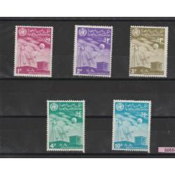 ARABIA SAUDITA 1967  METEOROLOGIA  YVERT N 302/6  - 5 V  MNH MF50554