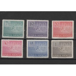 1951 INDONESIA NAZIONI UNITE  YV 47-52  6 V MNH  MF50462