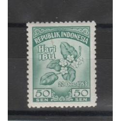 1953 INDONESIA CONGRESSO FEMMINILE  YV 73   - 1 V MNH  MF50463