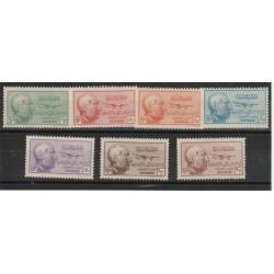 1945 SIRIA PRESIDENTE KOUALY  7  MNH YVERT 115-21  MF50621