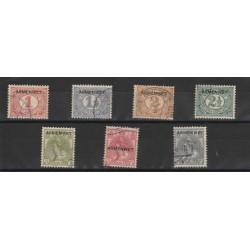 1913 OLANDA NEDERLAND SERVIZIO  7 VALORE USATI MF50590