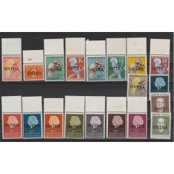 1962 1962 UNTEA NIEUW GUINEA NEDERLAND AMMINISTRAZIONE ONU 19 VAL MNH MF50606