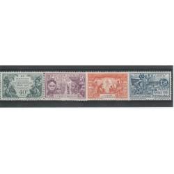 S PIERRE ET MIQUELON 1931  EXPO COLONIALE DI PARIGI  3  V  UMLH MF 50683