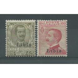 1917-18 LIBIA FRANCOBOLLI...