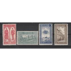 1940  TURCHIA TURKIYE  FRANCOBOLLO TURCO 4 VAL  UNIF 947/50 MNH MF50747