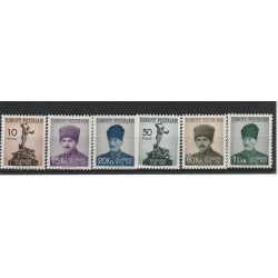 1950 TURCHIA TURKIYE  FIERA DI SMIRNE  5 VAL  UNIF 11035-1109 MNH MF50759
